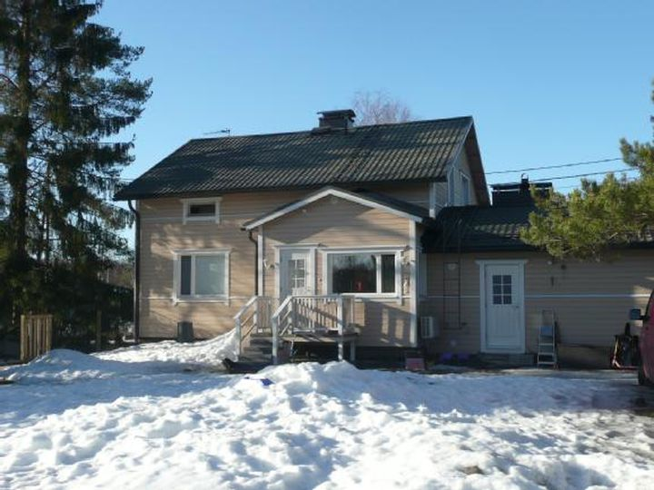 Detached house in city Imatra