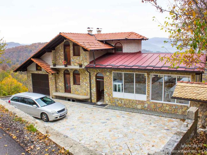 Villa in city Loznica