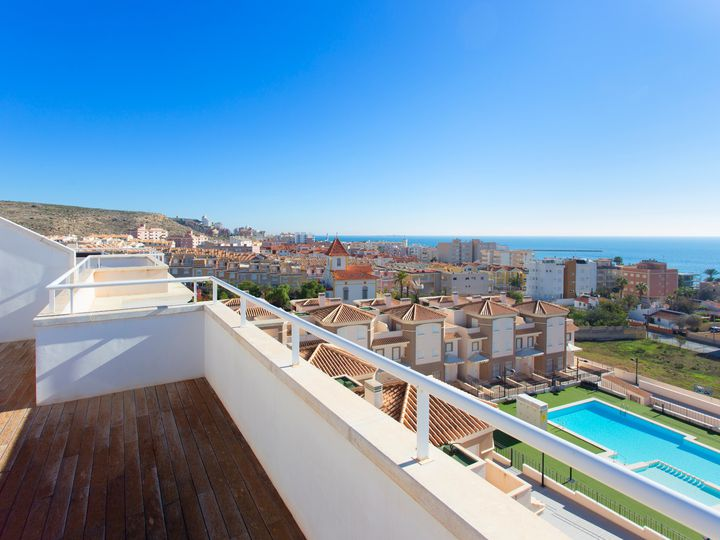 Penthouse in city Santa Pola
