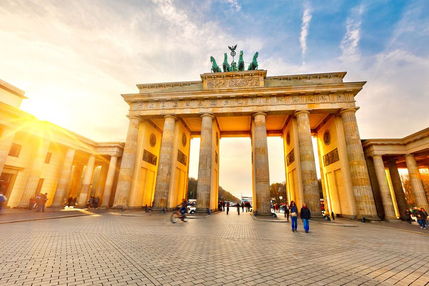Rating of tourism. Berlin is among three popular cities