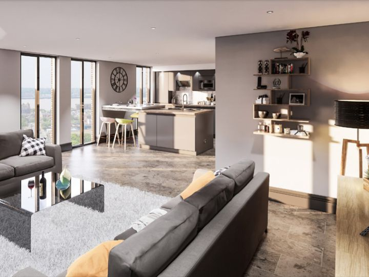 Apartment in city Liverpool